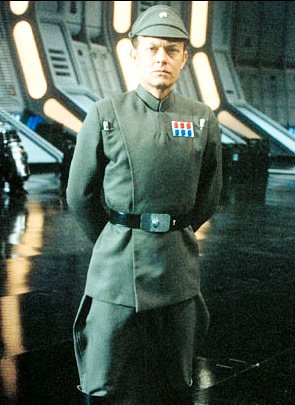 Imperial Officer Gray-Green Costume