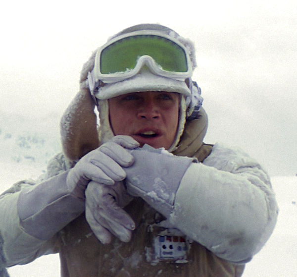 Rebel Hoth Officer Comm Unit - Luke Skywalker