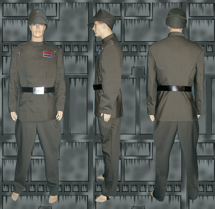 Star Wars Uniforms. Imperial Officer Uniform